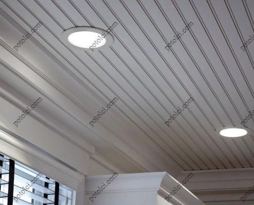 Выбор и установка светильников для реечного потолка