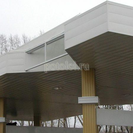 Реечный фасад ФВР-150М/200М БАРД