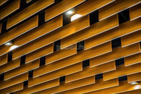Кубообразный реечный потолок МультиКуб БАРД