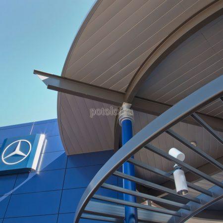 Реечный фасад 150/200F Luxalon