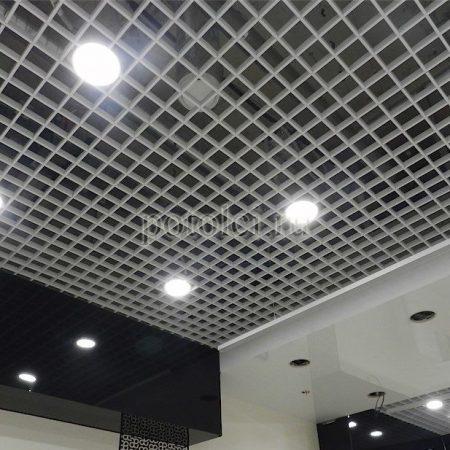 Ячеистый потолок Грильято Жалюзи GL 15 Албес