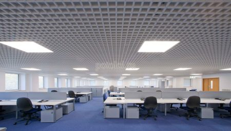Ячеистый потолок Грильято GL 15 Люмсвет