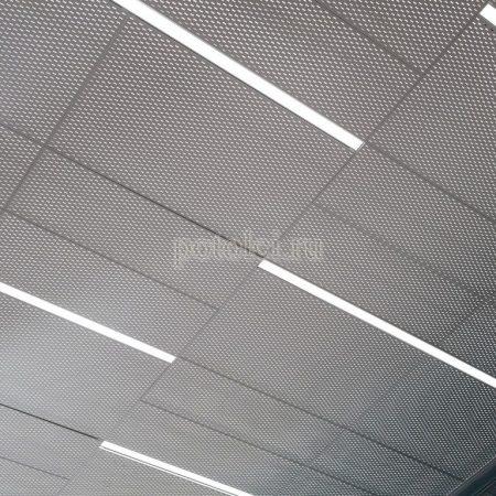 Кассетные подвесные потолки SKY ПВС Люмсвет