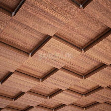 Кассетные потолки Открытая подвесная система Люксалон