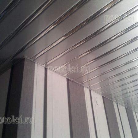 Реечный потолок тип 149