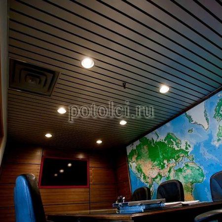 Реечные потолки Прямоугольный дизайн Албес