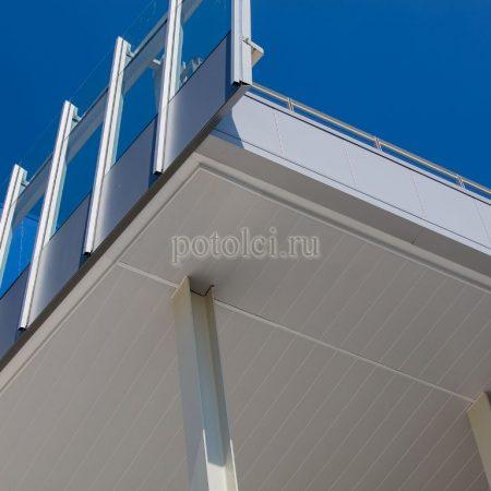 Вентилируемый реечный фасад 150/300мм