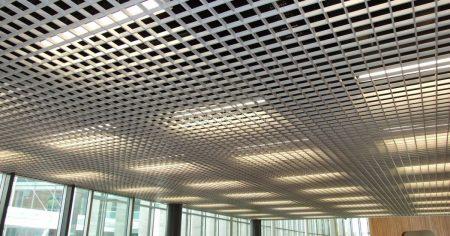 Ячеистый потолок Грильято NL 10 Люмсвет
