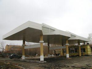 Монтаж вентилируемого реечного фасада