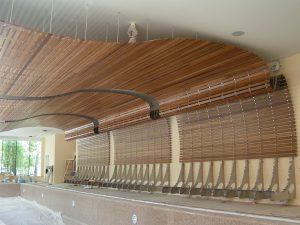 Этапы монтажа потолка