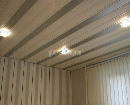 Типы реечного потолка