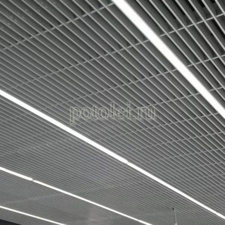 Ячеистый потолок Грильято GL 15 Jaluzi Люмсвет