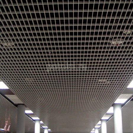 Ячеистый потолок Грильято