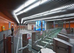 Подвесной реечный потолок Экран Люксалон