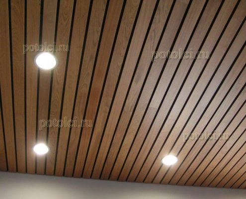 Деревянные потолки Люксалон Luxalon