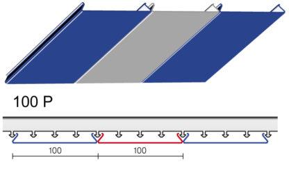 Реечные потолки Ceiling тип Р
