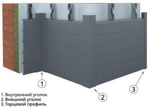 Фасадные рейки ФВР 150 и 200М БАРД