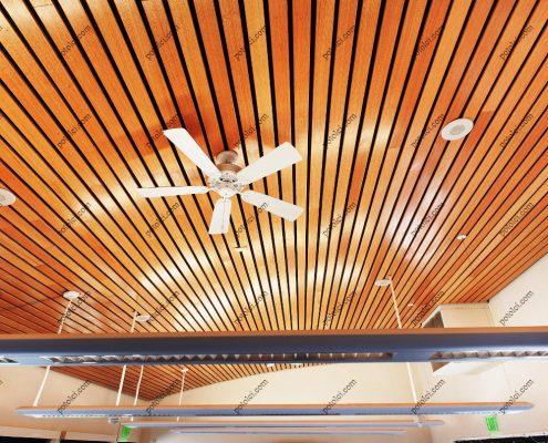 Деревянные реечные потолки Luxalon