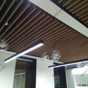 Установка потолка из ГСП в офисе Керама Марацци