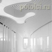 Подвесные дизайнерские потолки Luxalon