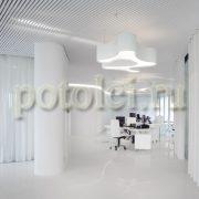 Подвесные кубообразные реечные потолки Luxalon