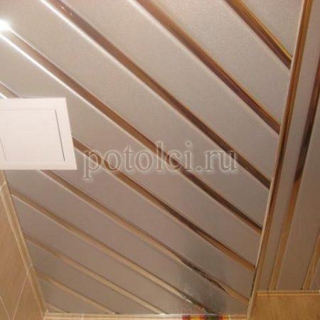 Подвесной реечный потолок ППР-165
