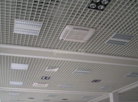 Потолок растровый Грильято