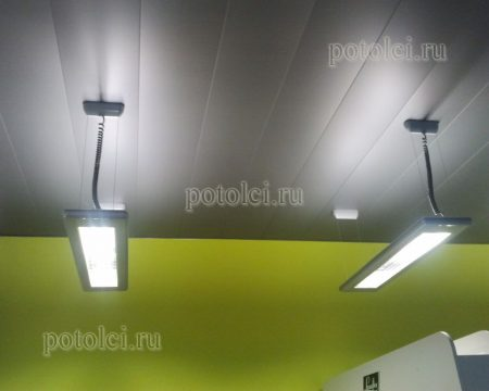 Реечный потолок тип С