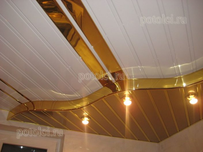 Реечный потолок ППР 084