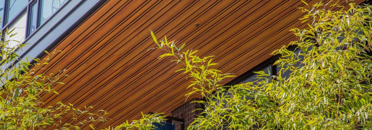 Алюминиевая фассадная рейка