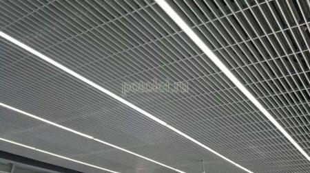 Потолок Грильято Жалюзи