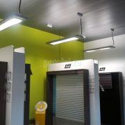 Подвесные реечные потолки Голландский дизайн Luxalon