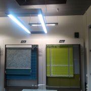 Подвесные алюминиевые реечные потолки Люксалон