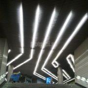 Дизайнерские реечные пластинообразные потолки Экран Luxalon