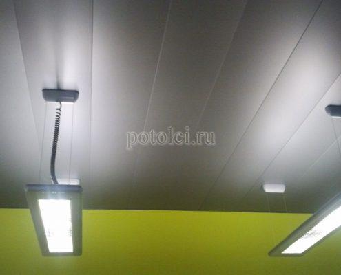 Реечные подвесной потолок Luxalon, тип С