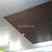 Подвесной реечный потолок 150С + потолок Экран, Luxalon