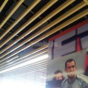 Дизайнерский реечный потолок Кубота