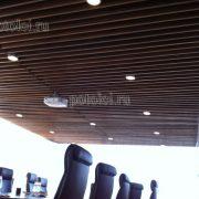 Панели из МДФ, покрыты шпоном Ореха