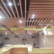Кубообразный подвесной реечный потолок Униформ от БАРД