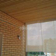 Деревянный реечный потолок из Кото