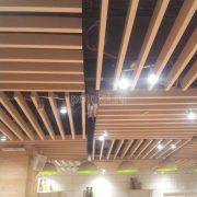 Дизайнерский реечный потолок Униформ
