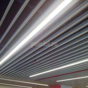 Кубообразные реечные потолки Кубота