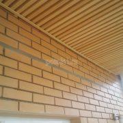 Монтаж реечного потолка Грид