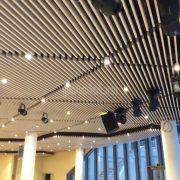 Кубообразные реечные потолки Униформ