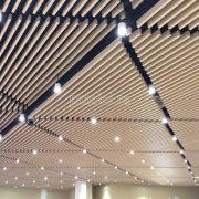 Кубообразные реечные потолки Униформ Бард