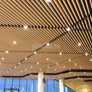 Подвесные реечные потолки Кубота Униформ от Бард. Монтаж нашими специалистами