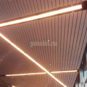 Реечный потолок Люксалон, аэропорт Внуково
