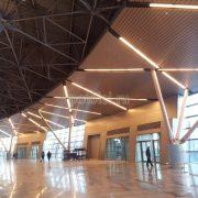 Реечный потолок Luxalon, тип 80b, цвет серебристый металлик