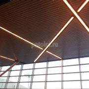 Мультипанельный реечный потолок Люксалон, панель 80b