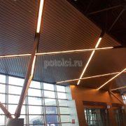 Дизайнерский реечный потолок Luxalon